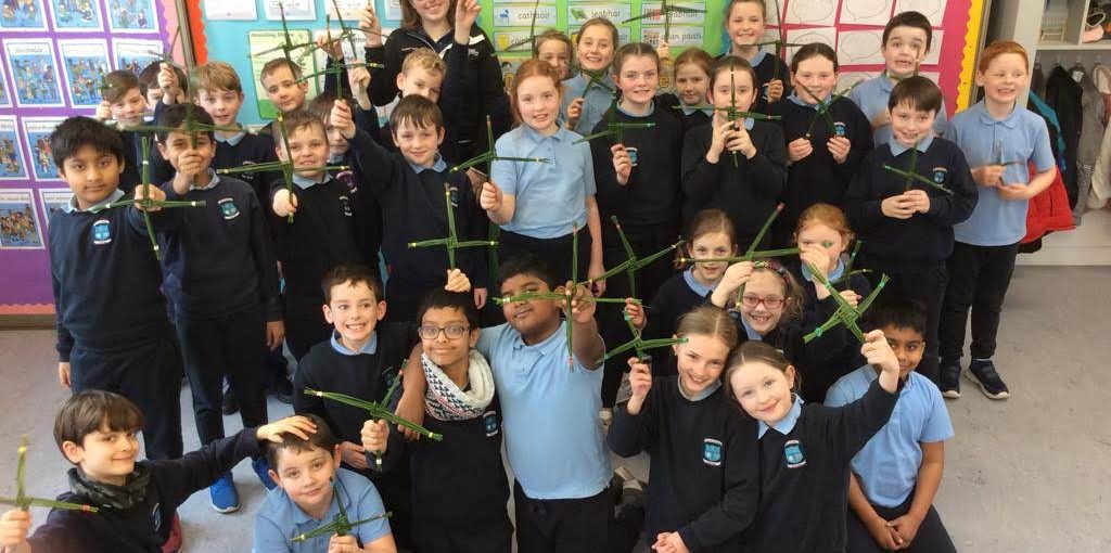 St. Brigid's Day in 3rd Class