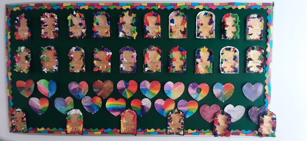 Ms Mc Cabe's Communion Art