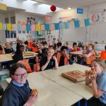 Pizza Party in 4th Class