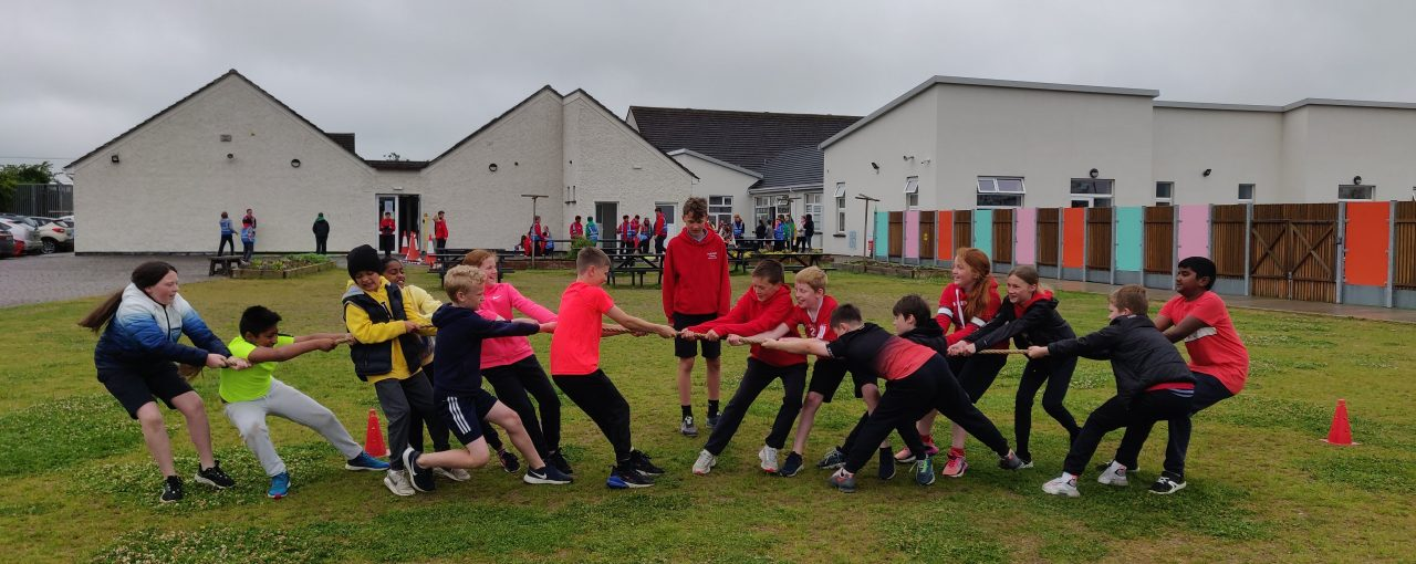 Sports Day - Ms. Keating's 4th Class